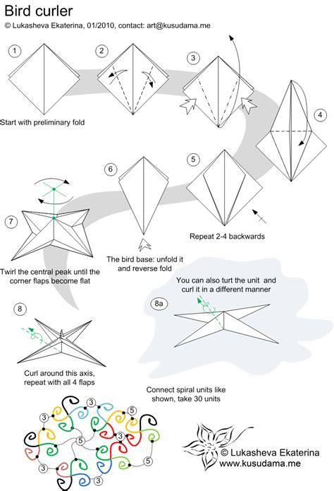 Diagram Origami - origami folding