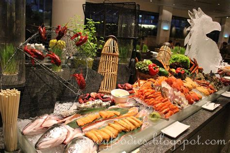goodyfoodies seafood buffet dinner serena brasserie