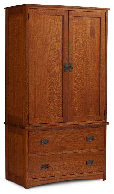 prairie mission tall armoire  chest
