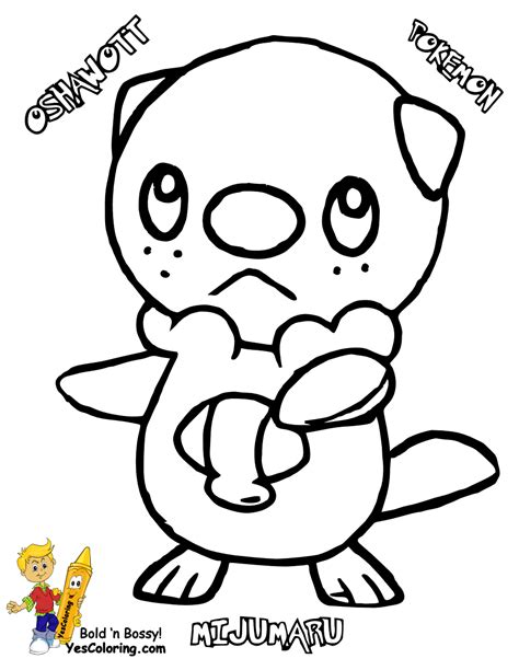 pokemon coloring pages pignite free coloring pages of pokemon tepig and snivy
