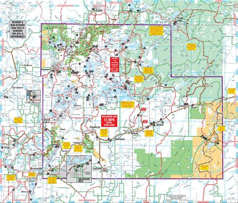 atv trails maps sawyer county snowmobile atv trail maps sawyer county