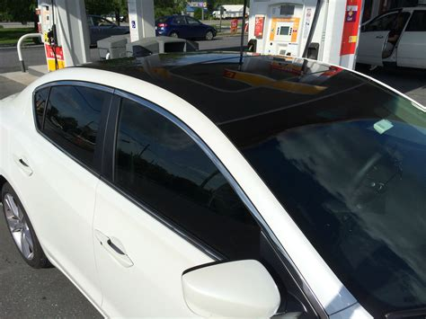 2009 acura tl with black roof wrap vinyl wrap tint acurazine acura enthusiast community