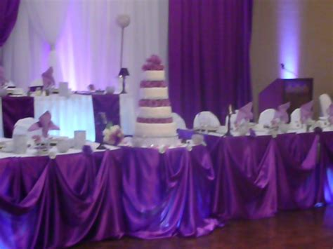 Black And Purple Table Decorations by Black And White Wedding Reception Decor Brown Hairs