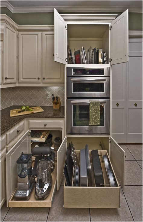 Kitchen Appliance Storage Cabinets | kitchen white tambour door ikea pantry cabinet small