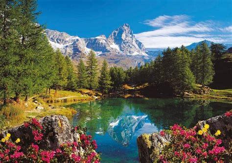 mountain valley bank na ravensburger krajobraz g 243 rski puzzle 1500 element 243 w