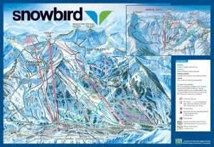 Snowbird Utah Map by Snowbird Ski And Summer Resort Skimap Org