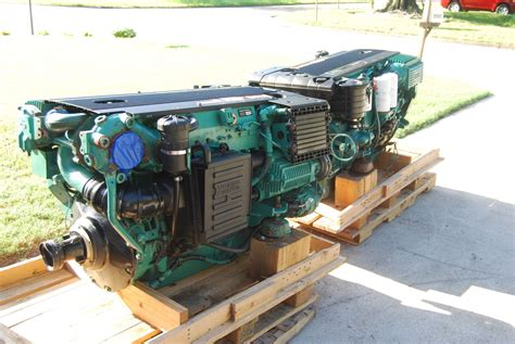 volvo d6 marine engine volvo d6 370 marine diesels complete set of 2 2008 for