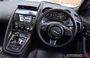 Jaguar F Type Dashboard 2016 Jaguar F Type R Awd Review Performancedrive