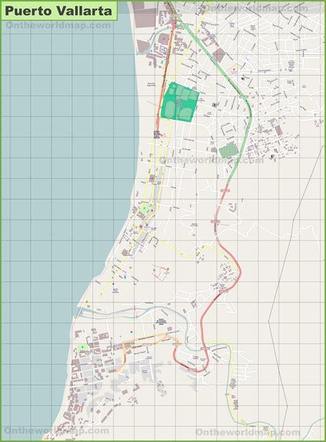 vallarta map of mexico large detailed map of vallarta