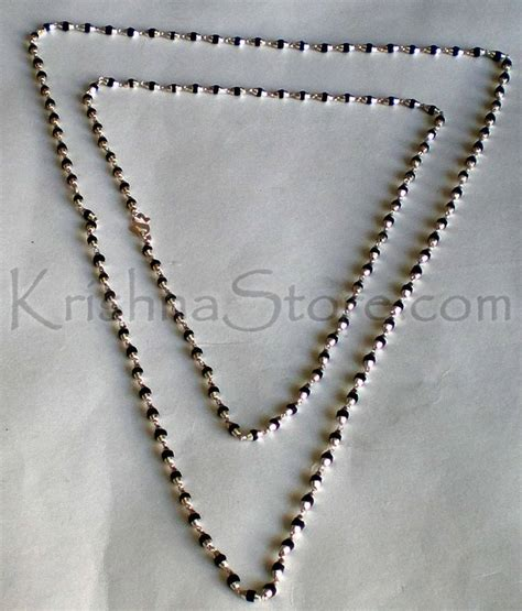 sterling silver tulsi necklace medium