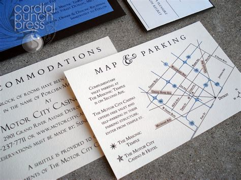 wedding invitation directions wedding invitation direction card with map wedding