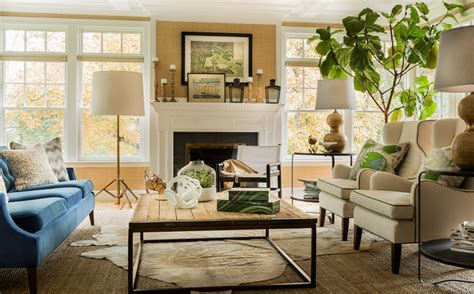 decor meaning transitional living room