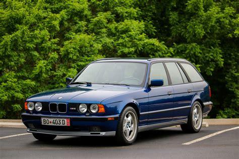 bmw e34 m5 blue avus blue e34 m5 touring connor hinkle flickr