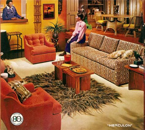 60s decor memories monday in which i express strong feelings about