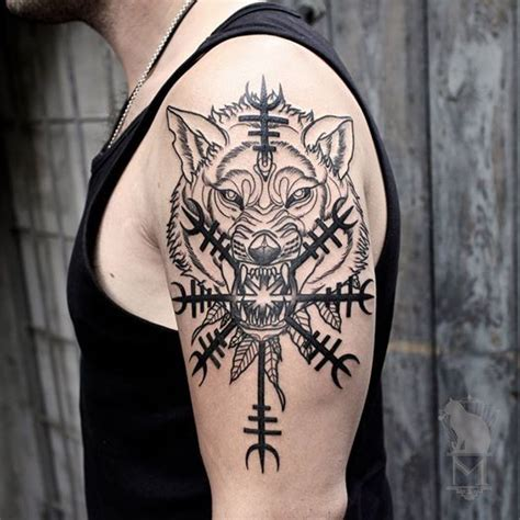 nordic tribal tattoos best 25 norse ideas on viking tattoos