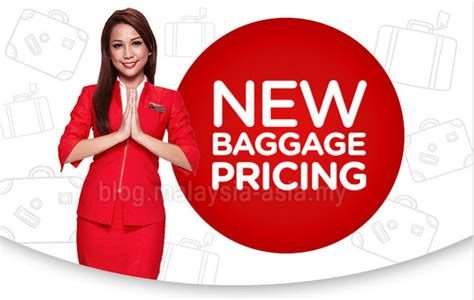 airasia with baggage airasia baggage pricing increased malaysia asia