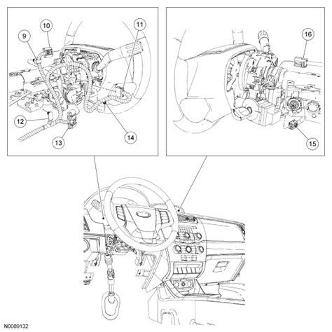 ford focu steering column wiring diagram cars