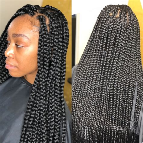 safest method for box braids schedule appointment with qthebraider