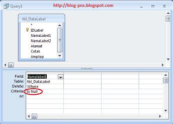 cara membuat query gabungan tutorial cara membuat module dengan query microsoft access