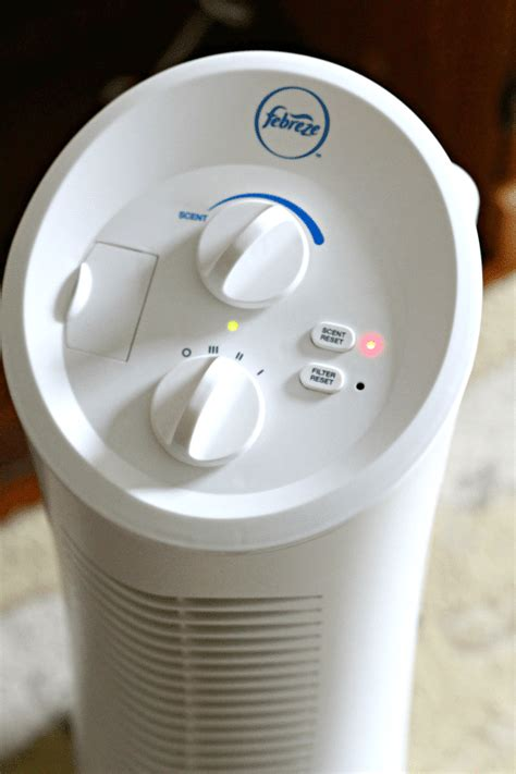 goodbye  litter box odor   febreze air purifier