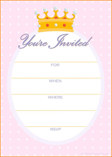 template for birthday invitation free birthday invitations free birthday invitations