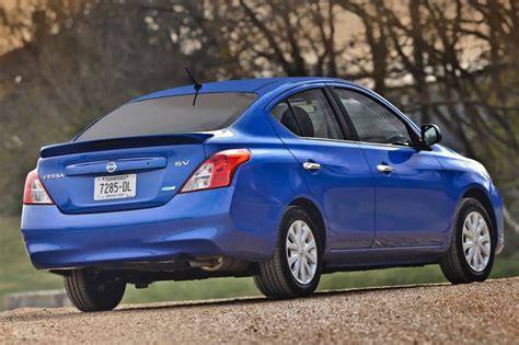 nissan sedan 2014 2014 nissan versa 1 6 sv market value what s my car worth