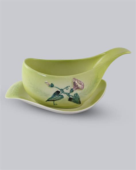 quirky gravy boat carlton ware convolvulus gravy boat and saucer mainly deco