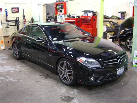 lowered amg lowered cl63 pictures mbworld org forums