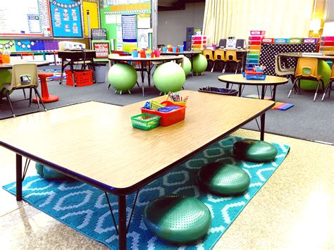 15 Flexible Seating Ideas - Playdough To Plato Examples Of Self Regulation In The Classroom