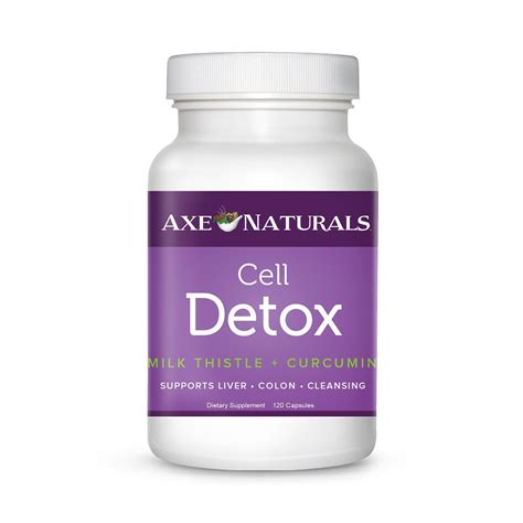Cleansing Effects Of All Cell Detox by Supplements Draxe