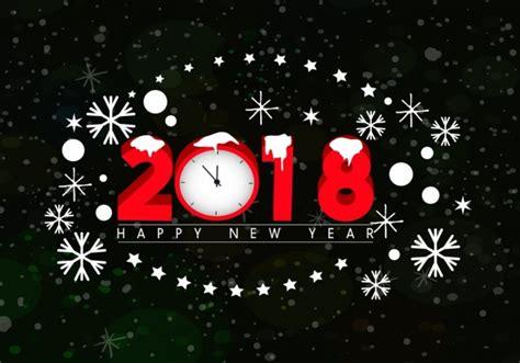 new year 2018 banner 2018 ป ใหม แบนเนอร นาฬ กาเกล ดห มะไอคอนตกแต ง