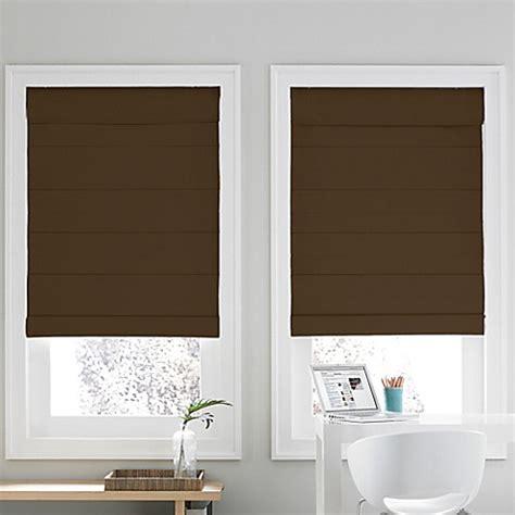 window shades real simple 174 roman window shade bed bath beyond