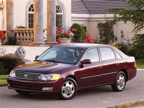 2000 Toyota Avalon Reviews Used Vehicle Review Toyota Avalon 2000 2004 Autos Ca