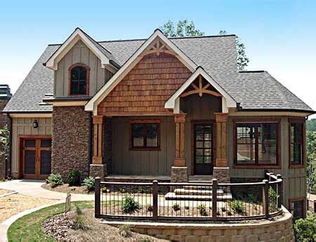 lake house plan green for the home pinterest images of cedar and limestone craftsman home like this