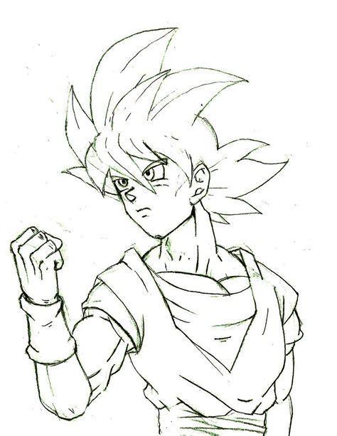 imagenes de goku en dibujo dibujo goku ssj dios arte taringa