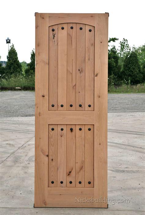 Rustic Wood Exterior Doors Rustic Doors Closeout Rustic Exterior Wood Door Alder