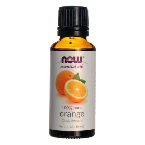 Orange Essential Oils Now Food now foods 100 essential orange 1 fl oz