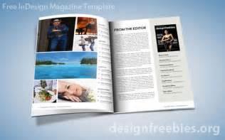 adobe indesign magazine templates free free exclusive indesign magazine template v 2 designfreebies