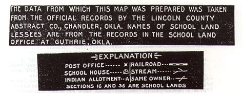 Lincoln County Oklahoma Court Records Lincoln County Oklahoma Territory Original Land Records