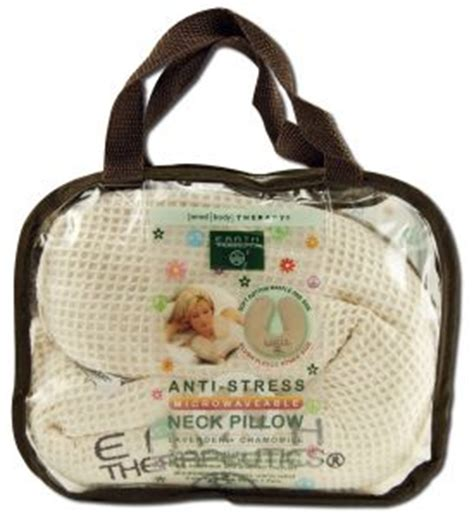 Earth Therapeutics Neck Pillow by Anti Stress Unscented Neck Pillow Waffle 1 Unit 12