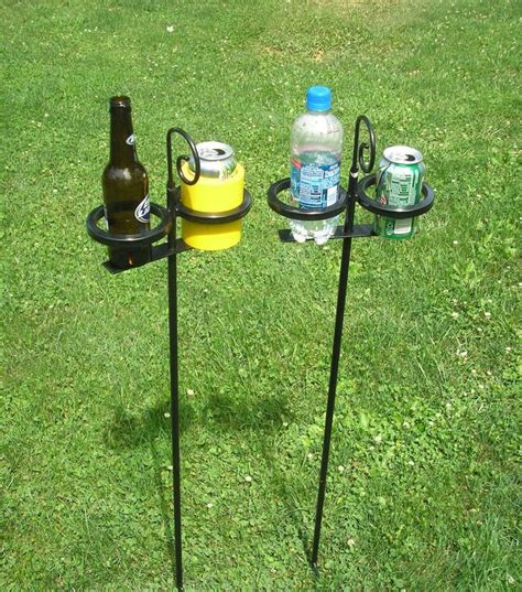 17 best ideas about outdoor drink holder on
