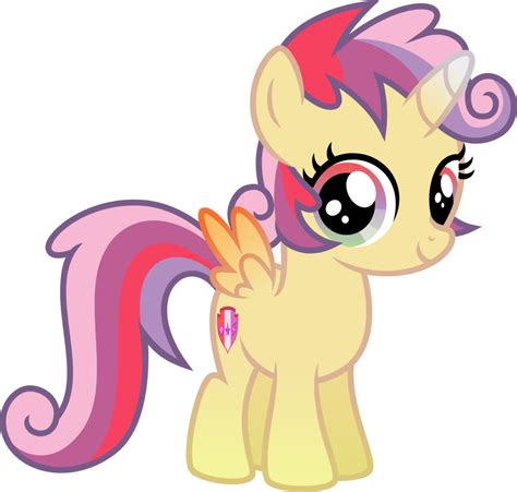 Ctm 050 China Pony Rainbow fusion of cutie crusaders by osipush my pony friendship is magic your meme
