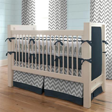 bettwäsche modern elefant babyzimmer design