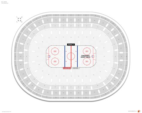bell center seating chart montreal canadiens seating guide bell centre