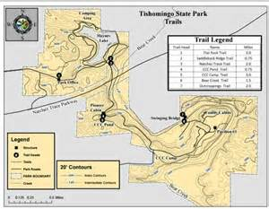 Mississippi State Parks Map by The Ccc Camp Hiking Trail In Tishomingo State Park