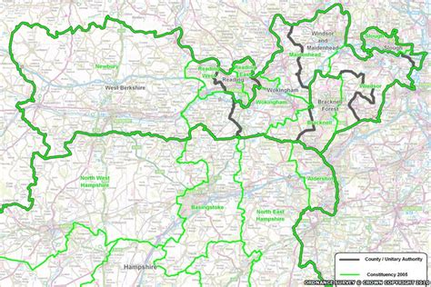 border map election 2010 boundary changes