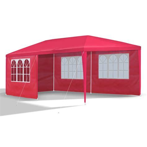 pavillon rot gartenpavillon 3 x 6 m rot pavillon pavillion