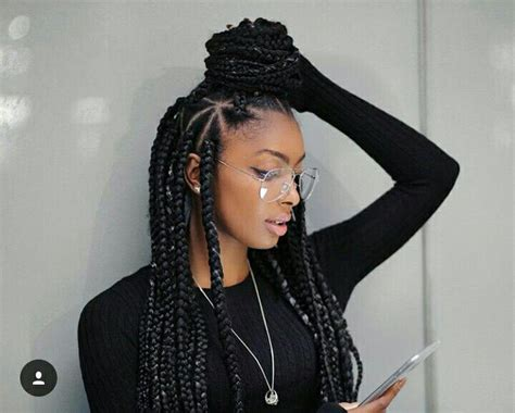 natural hair plaits hairstyle pictures box braids black hairstyles pictures black
