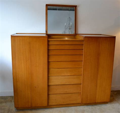 edward wormley for dunbar wardrobe cabinet for sale at 1stdibs