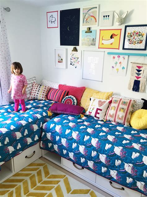 bohemian girls bedroom a modern boho bedroom for mazzy and harlow mommy shorts